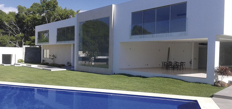 fachadas aluminio y vidrio morelos